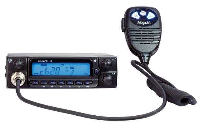 Радиостанция MegaJet MJ-600 PLUS автомобильная